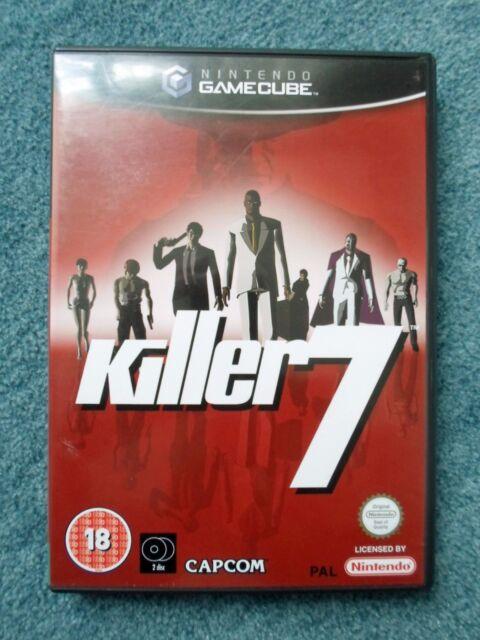 Nintendo GAMECUBE KILLER 7 CAPCOM videogioco