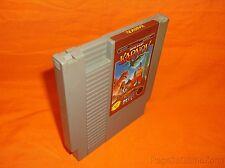 NES Nintendo Karnov Grey/ Gray  Game Cartridge Only Data East Russian Babylon