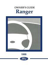 1998 ford ranger owners manual user guide ebay rh ebay com Ford Ranger Fuse Box Diagram 2004 Ford Ranger Fuse Diagram