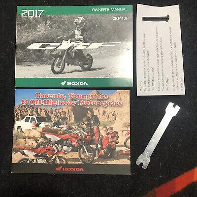 2017 Honda CRF150R// 150rb Dirtbike Owners Manual OEM 31kse680 00x31-kse-6800