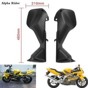 1-Pair-Black-Air-Duct-Tube-Cover-Fairing-For-Honda-2001-2007-CBR600RR-F4i-L-amp-R