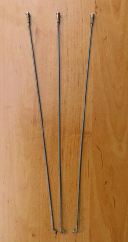 Speichen mit Nippel länge 219 mm stärke 2,55 mm 5 St