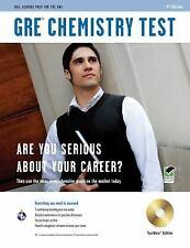 GRE Chemistry w/CD-ROM 4th Ed. (GRE Test Preparation), GRE, Editors of REA, Van