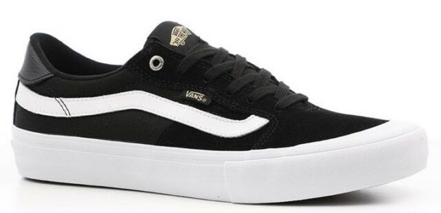 39a2f39509 VANS (STYLE 112 PRO) BLACK WHITE SUEDE SKATE SHOES SZ 11.5 MENS ULTRACUSH  NEW