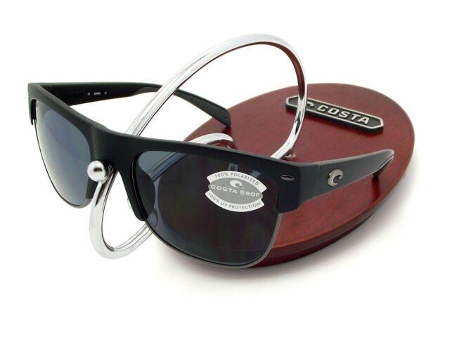 62d28889c02a Costa Del Mar Pawleys Matte Black 580p Gray Lenses PW 11 OGP for ...