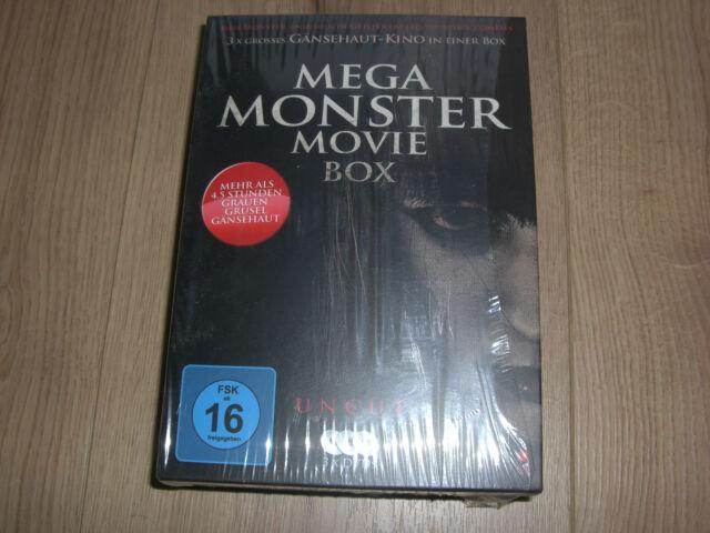 Mega Monster Movie 3 DVD Box Ghost Club, Küss mich Zombie und Monster Village