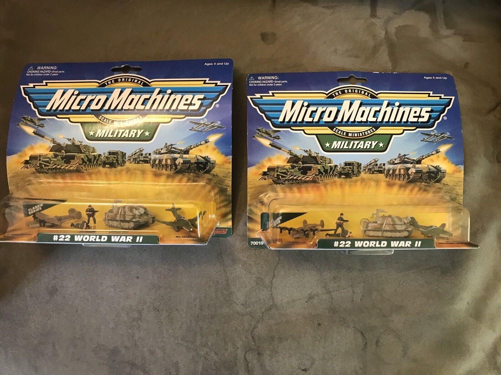 Micromáquinas militar  22 Guerra Mundial 2