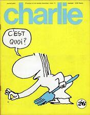 """""""CHARLIE N°26 / mars 1971"""" COPI : C'est quoi ?"""
