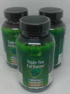 Irwin Naturals Triple-Tea Fat Burner x3 - 225 Total Soft Gels
