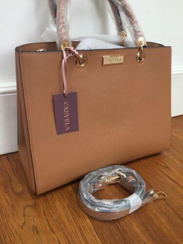 Carvela  Tan Brown Dory Shoulder Handbag