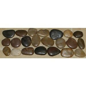 Image Is Loading Natural Stone River Rock Pebble Mosaic Tile Border