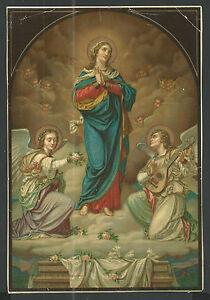lamina ancianne de la Virgen image pieuseestampa santino holy card oHWUIGwA-09095143-496875371