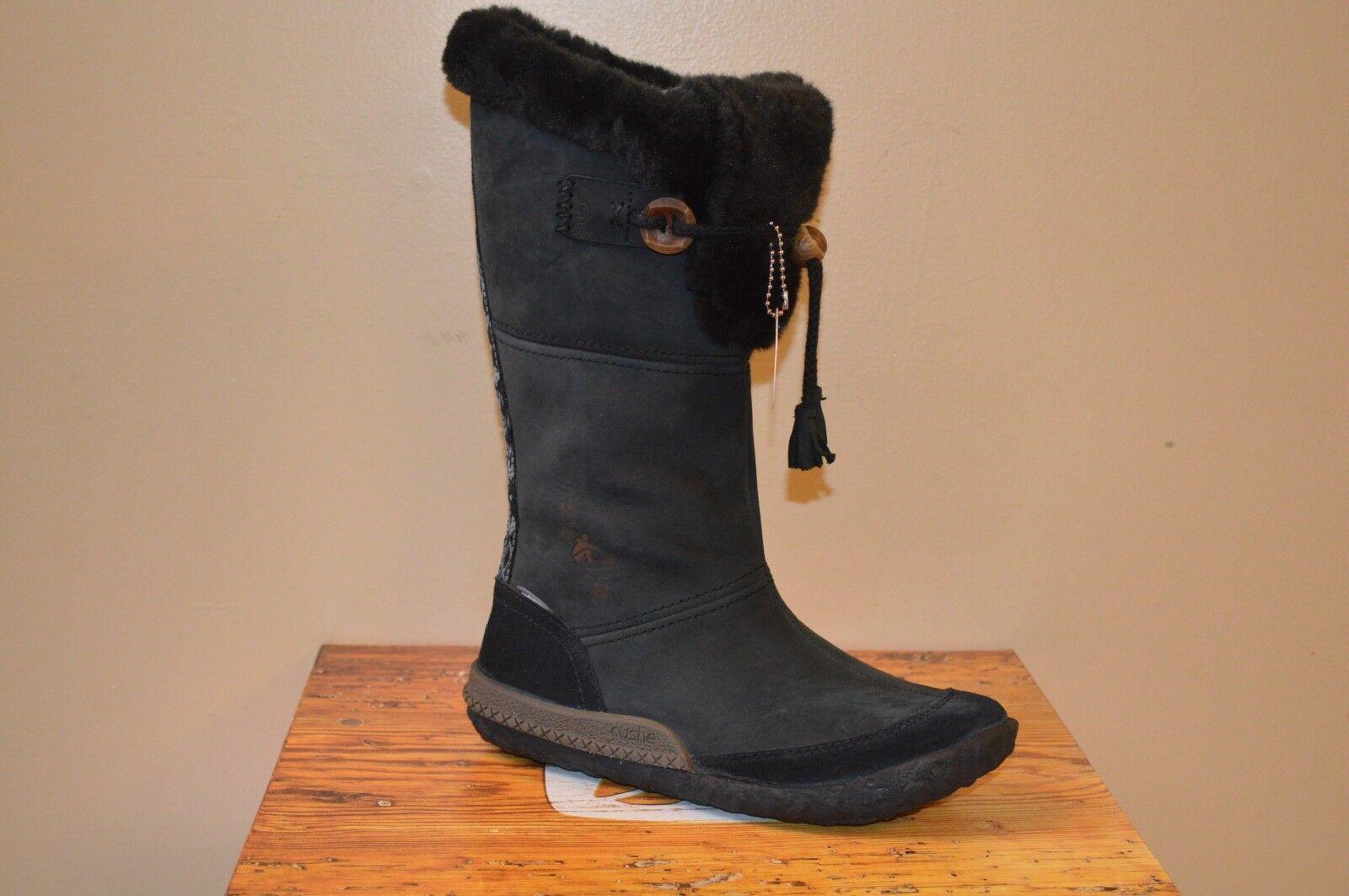 shopping online e negozio di moda Cushe Cushe Cushe Cabin Fever WP nero Leather donna stivali Dimensione 5  vanno a ruba