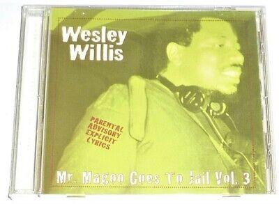 Still Sealed Cd By Wesley Willis Mr Magoo Goes To Jail Vol 3 1996 Ebay