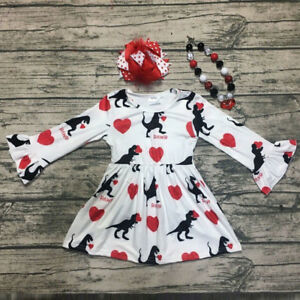 Toddler-Kids-Baby-Girls-Cartoon-Long-Sleeve-Princess-Dress-Set-Valentine-Clothes