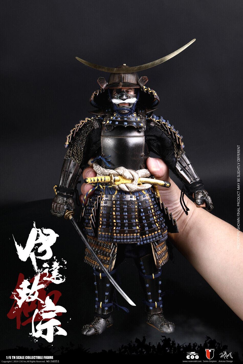 1 6 COOMODEL SE051 serie de los imperios Date Masamune Figura De Acción Set Completo