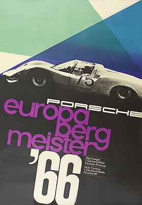 Porsche wins TransAm 1980 Vintage Poster print on Paper or Canvas