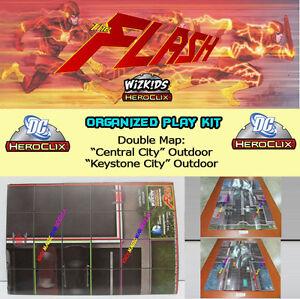 Details about DC Comics Heroclix the flash op kit map/map \