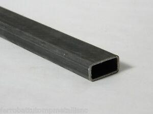 Tubo rettangolare in ferro liscio profilo tubolare 40x20 for Ferro tubolare quadrato prezzo