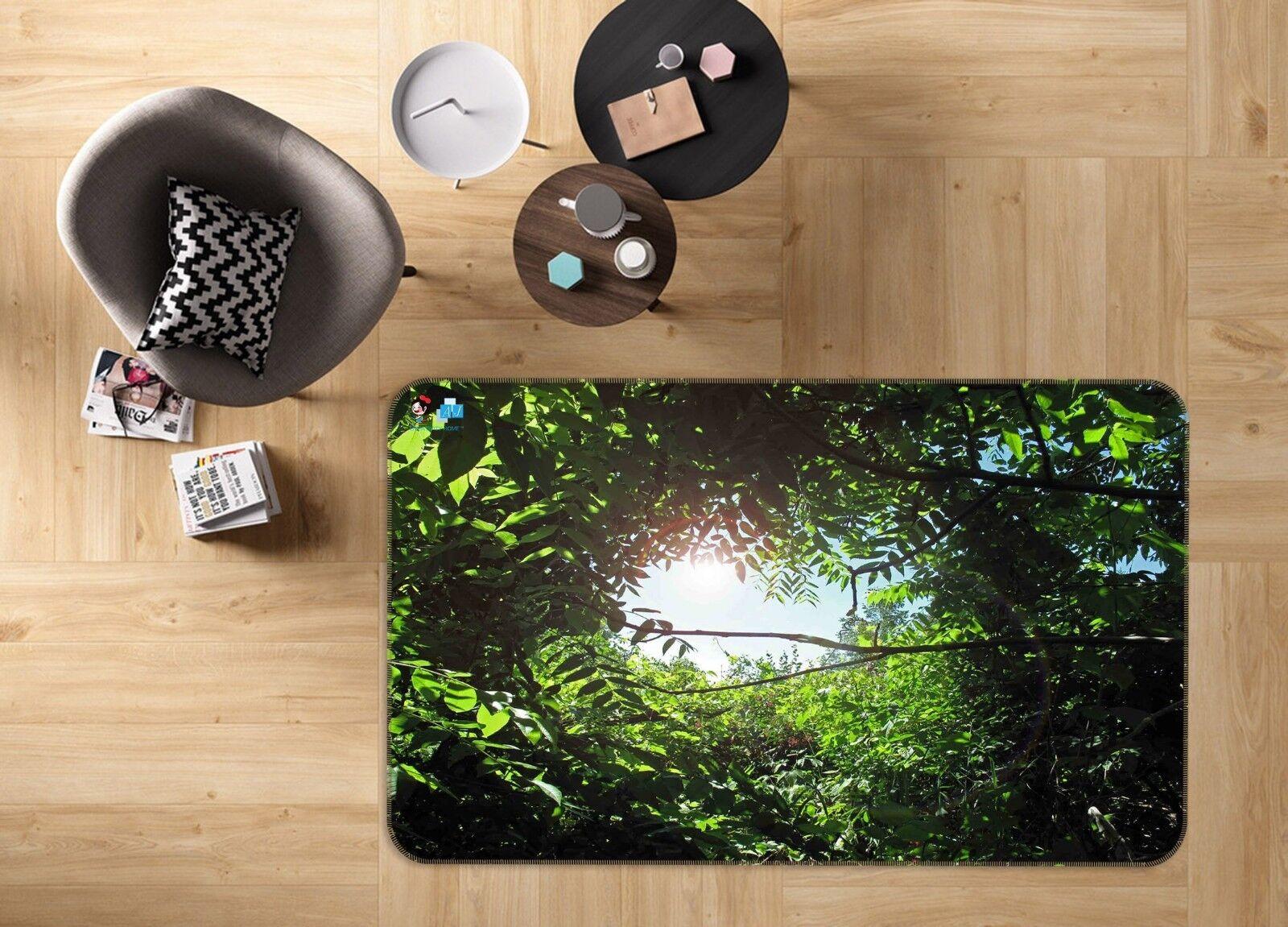 3D verde Grove SKY 53 tappetino antiscivolo tappeto camera Tappetino Qualità Elegante foto Tappeto UK