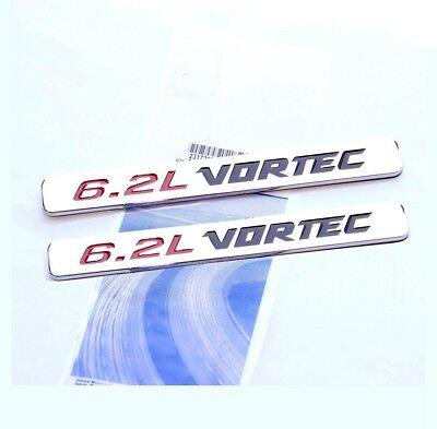 2pcs OEM GMC Chrome DENALI HD door EMBLEMS Badge  Nameplate DENALIHD FU