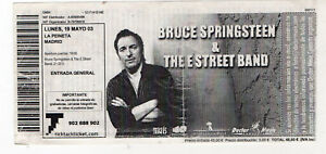 Entrada-usada-concierto-Bruce-Springsteen-amp-The-E-Street-Band-Ano-2003