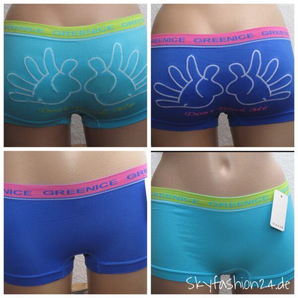 Damenpanties sexy Boxershorts Damenunterwäsche Hände viele Farben S-XL Slips