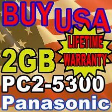2GB PC2-5300 Panasonic Toughbook 74 LAPTOP MEMORY RAM