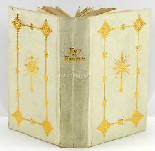 Key of Heaven Catholic Latin English Prayer Book 1900 Dublin Ireland Miniature