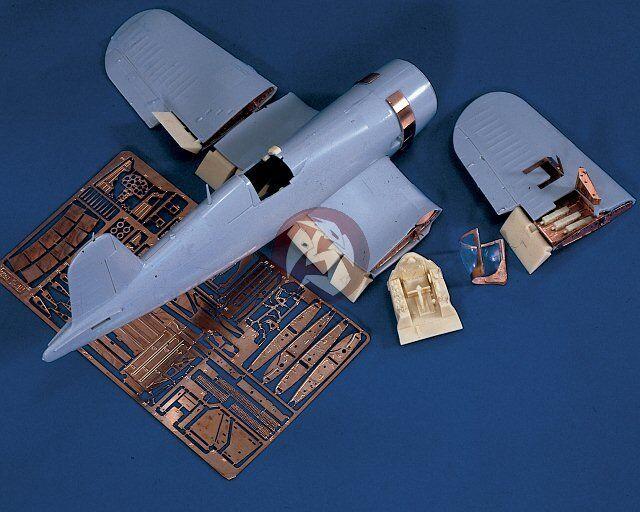 Verlinden 1 48 Vought F4U-4 Corsair Super Detail Set (for Hasegawa kit J9) 729