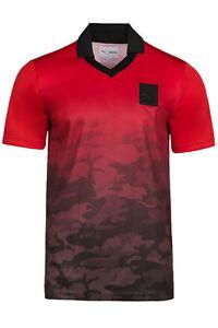bfa0781d53b2df NEW Mens PUMA X Trapstar Football Tee Shirt S M Barbados Cherry Camo ...