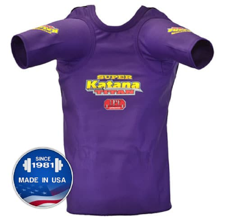 Super Katana AS Bench Press Shirt by Titan Powerlifting 1 ply IPF legal