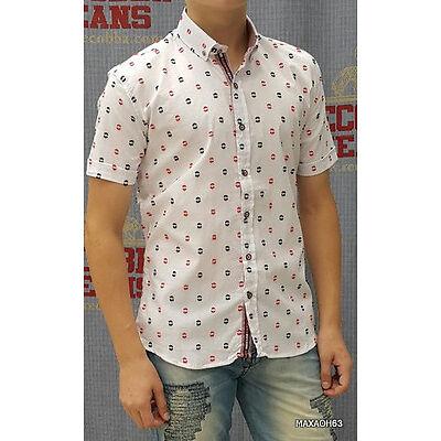Рубашка мужская с коротким рукавом DAST CARDIN