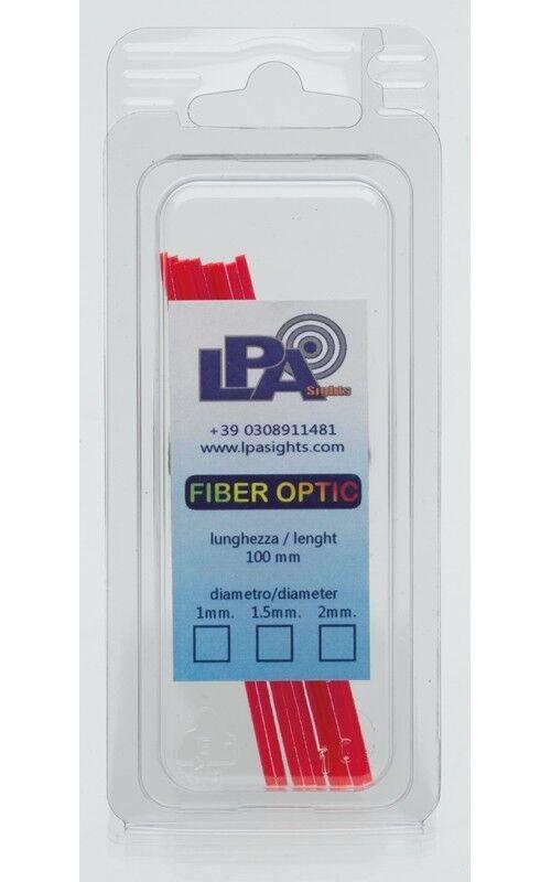 Blister di Fibra Ottica LPA - Rossa - diametro 1 mm