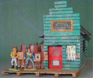Potters-Old-West-Town-3064-Gunsmith-Wild-West-zu-7cm-Sammelfiguren-Fertigmod