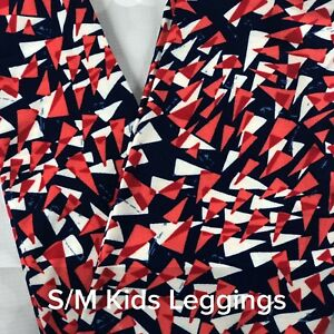 459be80fb6ae02 Image is loading LuLaRoe-S-M-Child-Kids-Leggings-LLR-BNWOT-Americana-