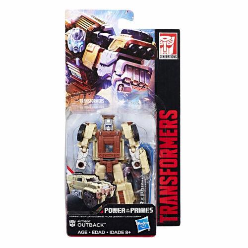 Transformers Generazioni di potenza dei numeri primi LEGGENDE Autobot OUTBACK 10CM giocattolo