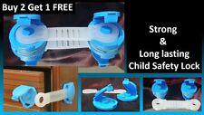 STRONG Child Proof Cupboard Drawer Fridge Door Lock Pet Proof Cabinet