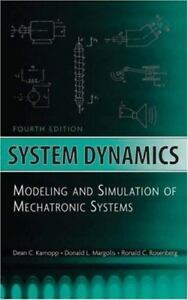 system dynamics modeling and simulation of mechatronic systems by rh ebay com