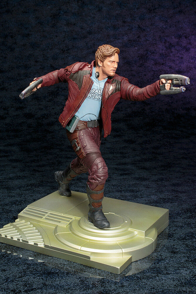 Guardians Guardians Guardians Of The Galaxy Star-Lord & Baby Groot Artfx 1/6 PVC Statue KOTOBUKIYA 70d623