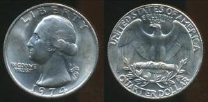 United-States-1974-Quarter-1-4-Dollar-Washington-Uncirculated