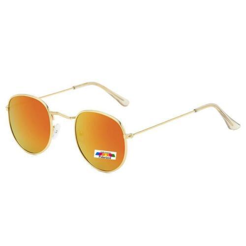 Polarised Mens Womens Round Polarized UV Protection Vintage Sunglasses Y752