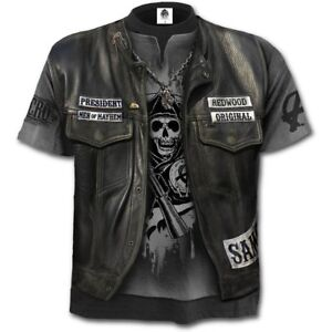 Spiral-Direct-Sons-of-Anarchy-JAX-WRAP-Allover-T-Shirt-Biker-Licensed-Flames