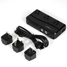 BESTEK 220V to 110V Travel Voltage Converter Portable UK/US/AU/EU Travel Adapter