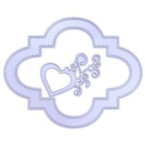 QZO-2pcs-Heart-Flowers-DIY-Metal-Cutting-Dies-Crafts-Stencil-Embossing-Decor