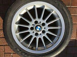 "BMW 8 SERIES 840i 850i E31 17"" STYLE 32 RADIAL-STYLING ALLOY WHEEL RIM #1"