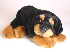 Rottweiler Puppy by Piutre, Hand Made in Italy, Plush Stuffed Animal NWT