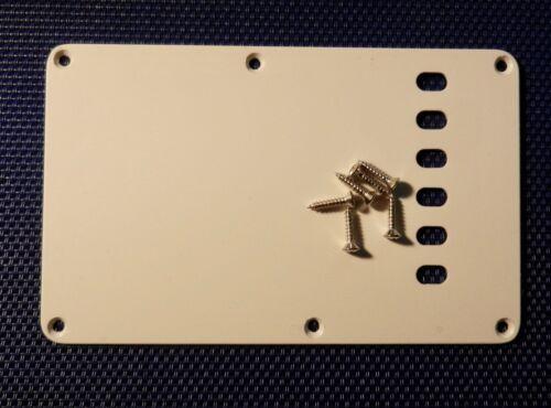 Vintage 70s RI Fender Strat TREMOLO COVER Scratch Plate White