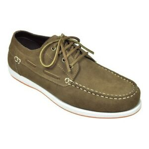 Image is loading New-Rugged-Shark-Whaler-Shoes-Color-Brown-Suede