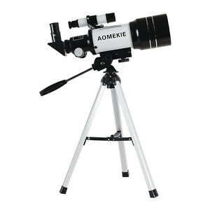 300x70mm Refractor Astronomical Telescope With Tripod&Finderscope For Beginners